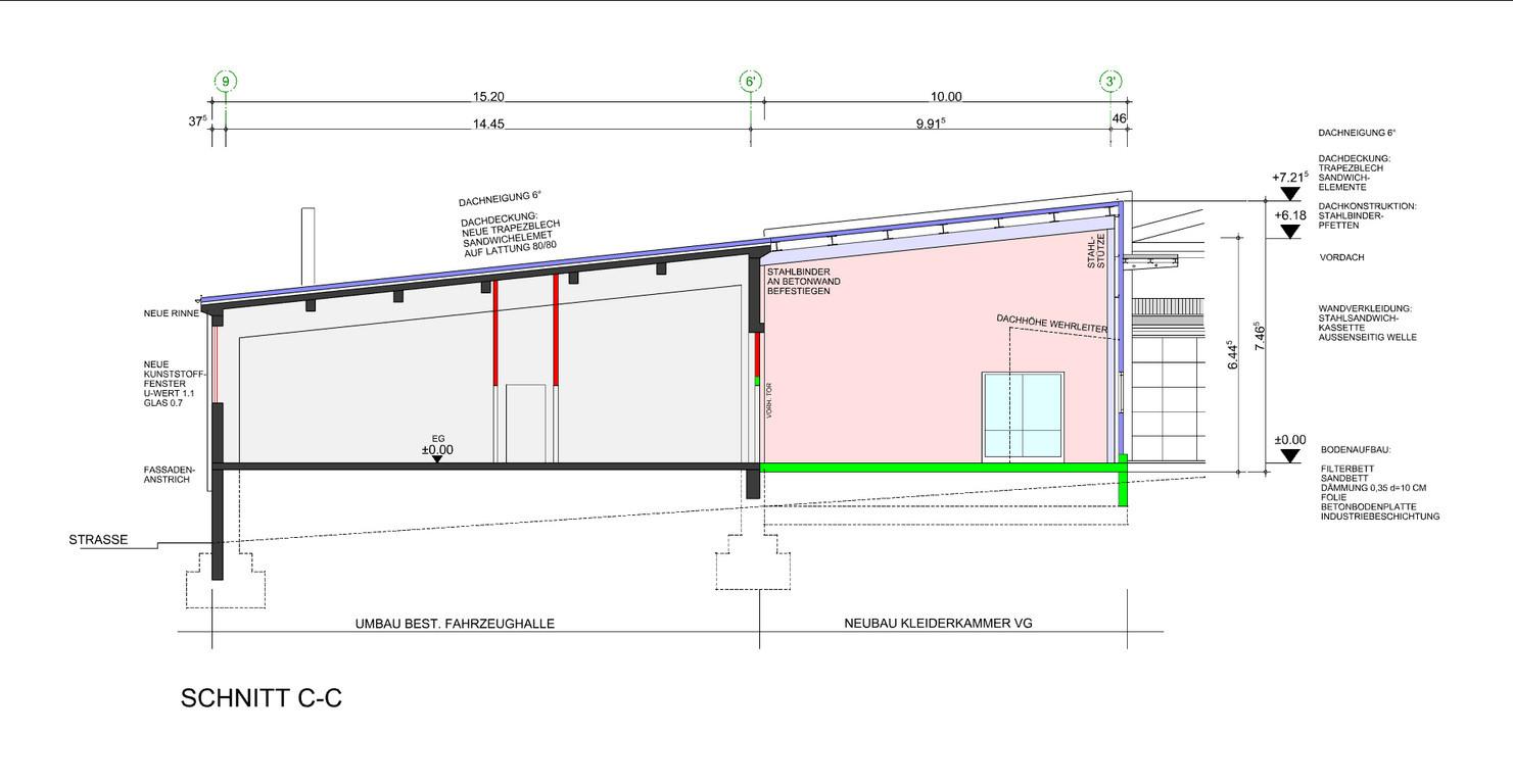 architekturb ro bill gmbh feuerwehrger tehaus baumholder. Black Bedroom Furniture Sets. Home Design Ideas